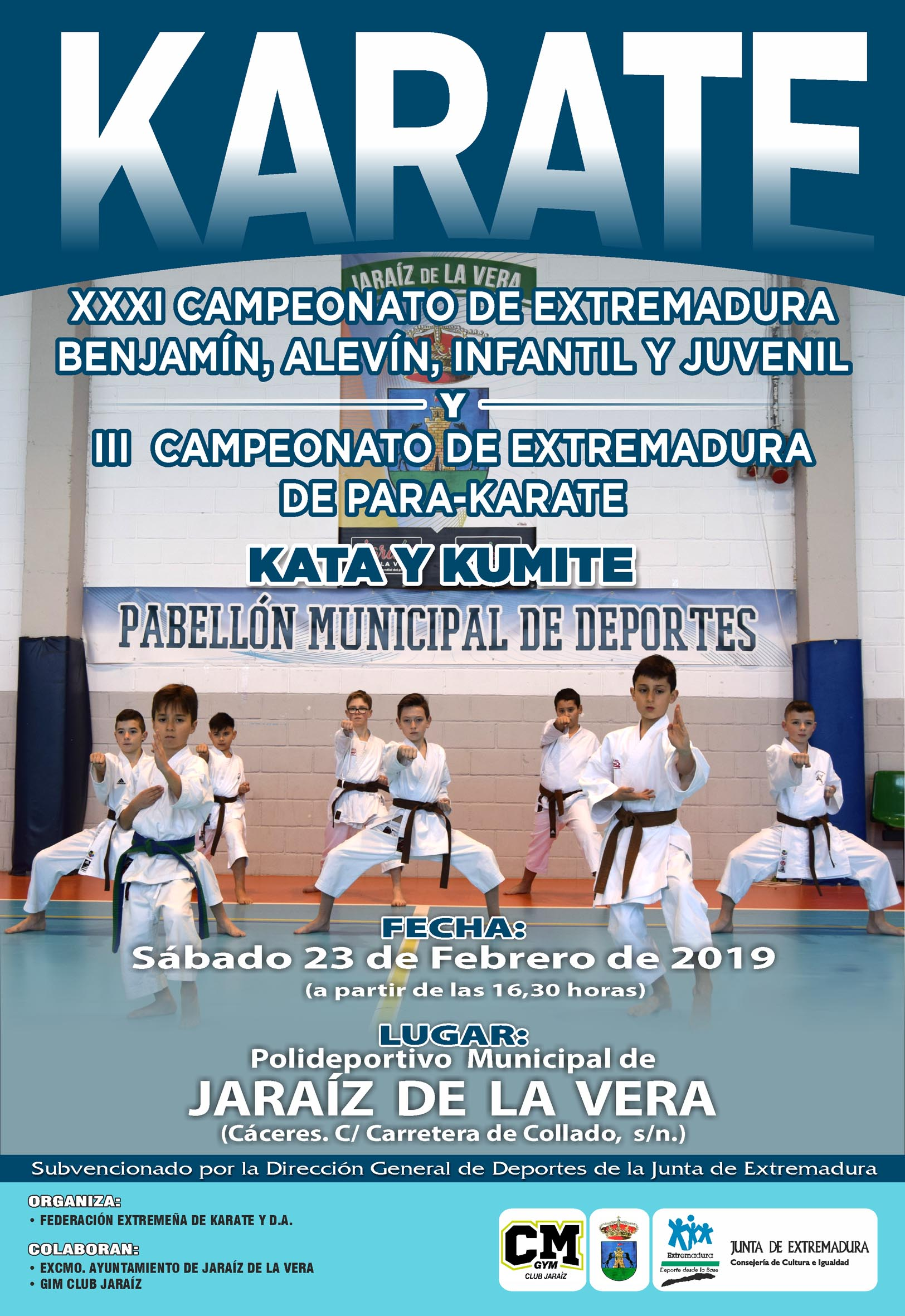 Campeonato Extremadura Infantil-ParaKarate 2019