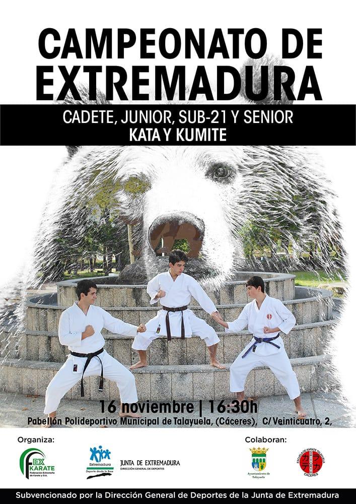 Campeonato de Extremadura CJS21 + Senior