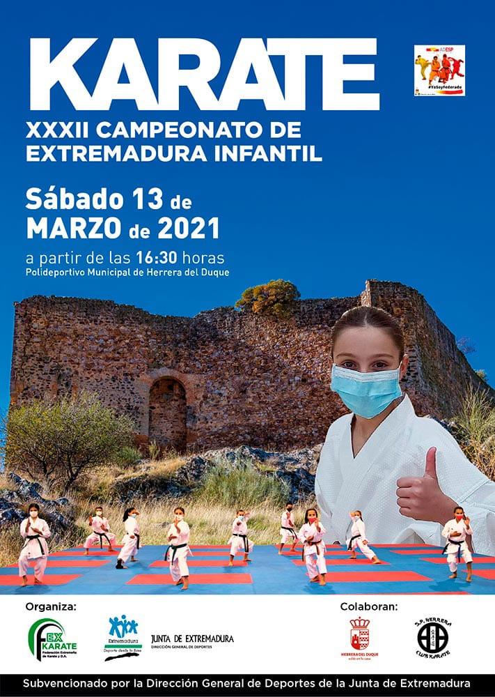 Campeonato de Extremadura Infantil 2021