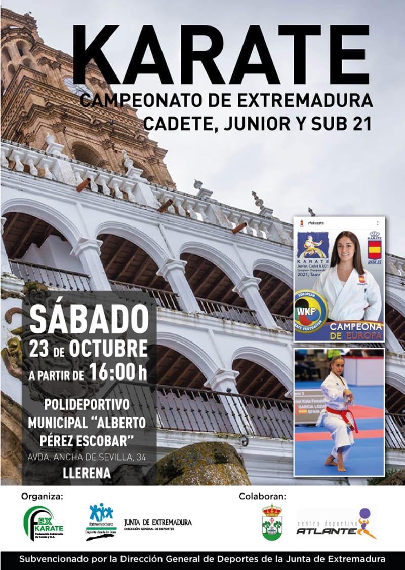 Campeonato de Extremadura Cadete-Júnior-Sub21 2021