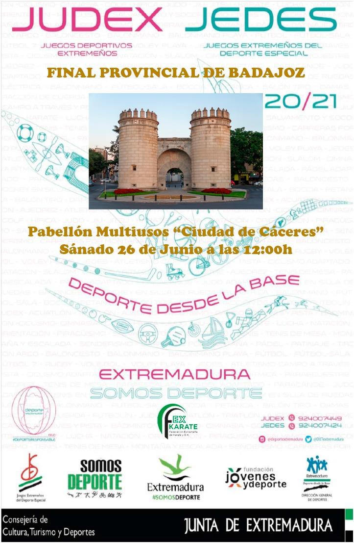 JUDEX 2021 Final Zonal Badajoz